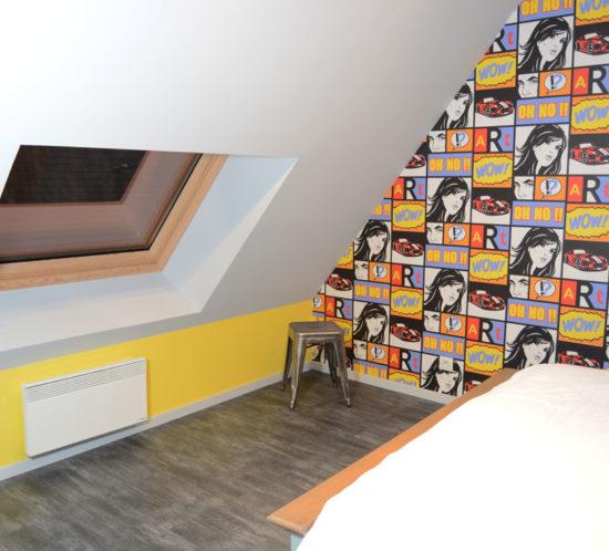 chambre pop BD peintre en bâtiment Tours
