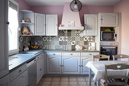 modernisation repeindre cuisine peintre Tours
